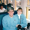 Randal and Donna Are Aboard - Great Smoky Mountains Railway - Bryson City, NC  4-7-97