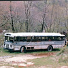 The Prison Buses - Great Smoky Mountains Railway - Bryson City, NC  4-7-97