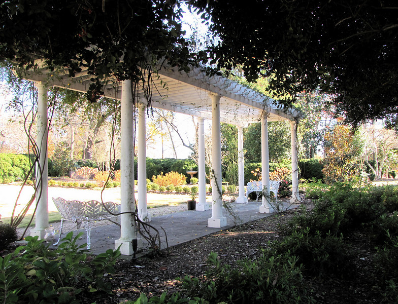 Arbor in Garden Area - Historic Rosedale Plantation - Charlotte, NC  11-27-10