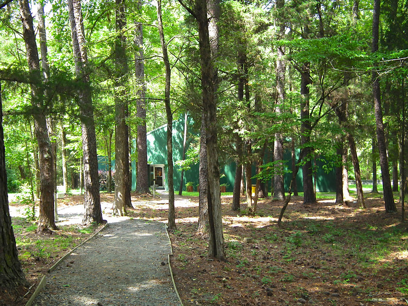 Path to The Visitor Center & Gift Shop - Historic Stagville - Durham, NC