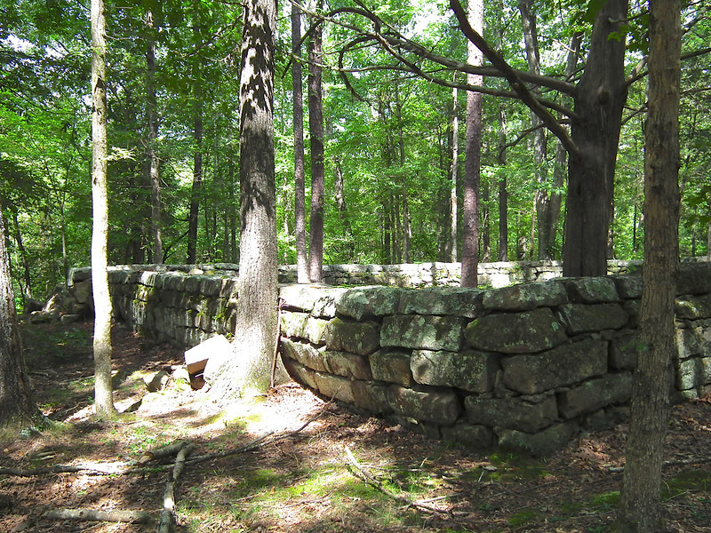 Graveyard - Historic Stagville - Durham, NC<br /> The graves of Richard, Mary and Thomas Bennehan are within these walls.