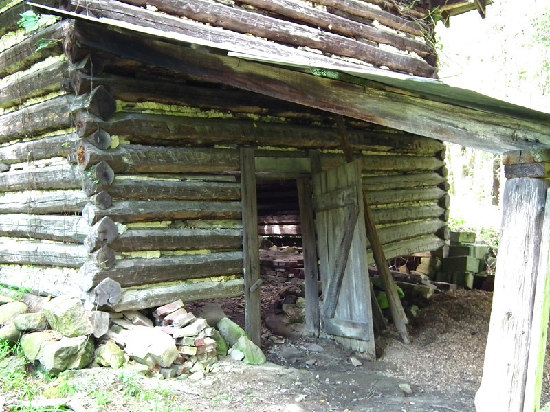 Behind the Slave House - Historic Stagville - Durham, NC