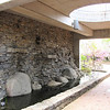 Waterfall Wall at Education Center Entrance - JC Raulston Arboretum, Raleigh, NC  3-24-11