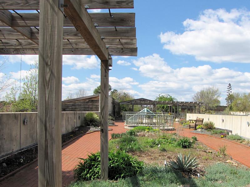 Rooftop Terrace - JC Raulston Arboretum, Raleigh, NC  3-24-11