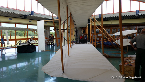 Model of first Wright Brother plane that flew