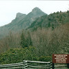 Highest Mt. in the Blue Ridge - Elevation 5964 - Grandfather Mountain Near Linville, NC  4-11-04<br /> Grandfather Mountain has over 4,000 acres of the property protected from perpetuity development for the benefit of mankind, wildlife and nature.