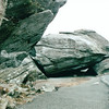 Huge Rocks - Grandfather Mountain Near Linville, NC  4-11-04