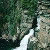 Linville Falls, Milepost 316 on Blue Ridge Parkway, NC  4-11-04