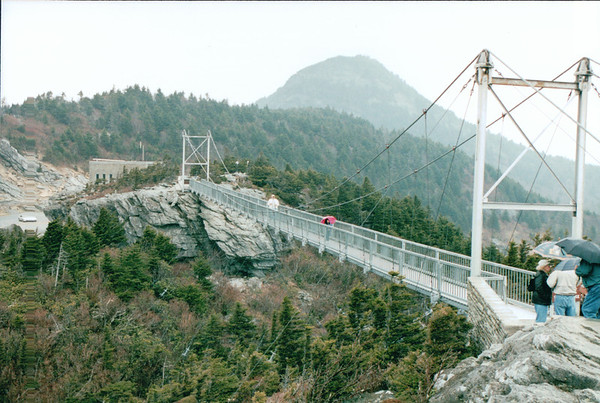 Linville, NC - Linville Falls and Grandfather Mountain