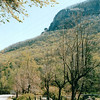 Looking Back at Chimney Rock, NC from Town  4-9-04