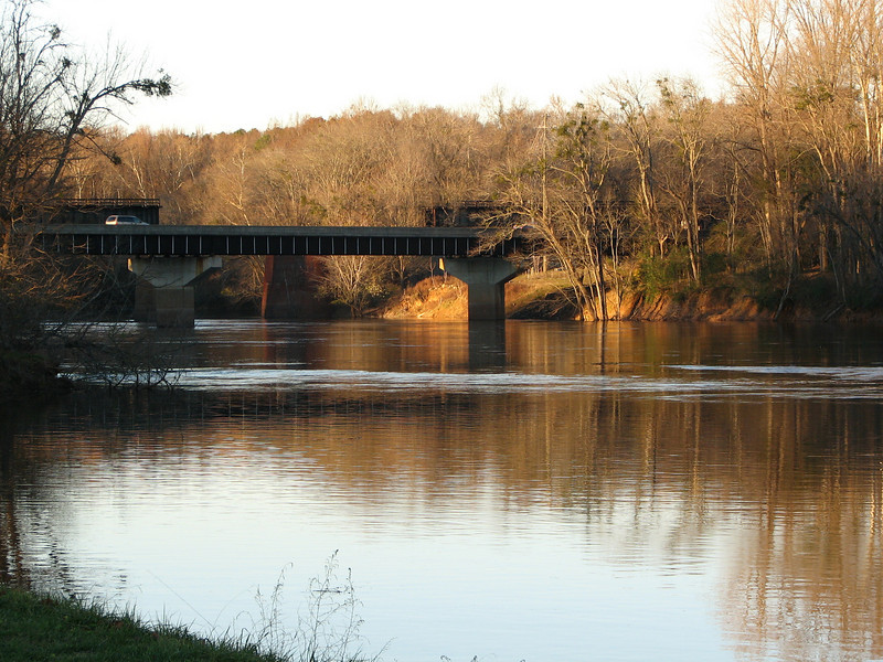 View of Bridge - River Falls Park - Weldon, NC  11-24-06