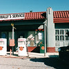 Wally's Service Station - Mayberry USA - Andy Griffith's Home Town, Mt. Airy, NC  11-10-03