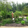 Entering the Garden - North Carolina Botanical Garden at Univ. of NC at Chapel Hill<br /> Inspiration II, by Tinka Jordy, greets visitors.