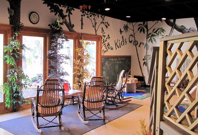 Inside the Nature Center - Reedy Creek Park & Nature Preserve - Charlotte, NC  11-27-10
