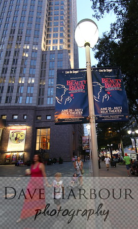 Downtown Art, Theater, Charlotte, Statue, Photo by Dave Harbour