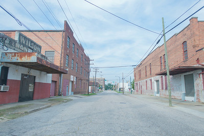 The warehouse district