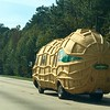 Peanut-mobile on the way to Wilimington