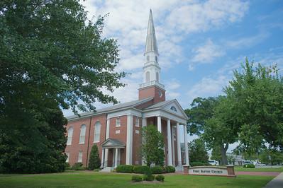 Baptist Church on Sunday