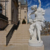 Sculpture of a woman and child dancing, at the Biltmore Estate, Asheville, North Carolina