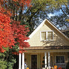 An autumn view of a home in Charlotte, North Carolina