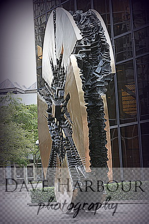 Downtown Art, Grande Disco, Bank of America Plaza, Photo by Dave Harbour