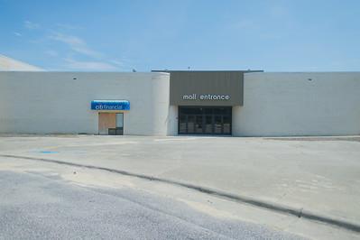 Abandoned Mall Entrance
