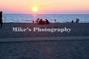 On the beach in Holland Michigan