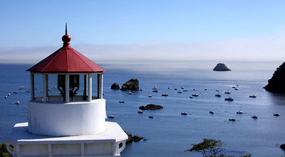 lighthouse at Trinidad, CA