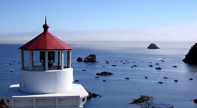 lighthouse at Trinidad, CA