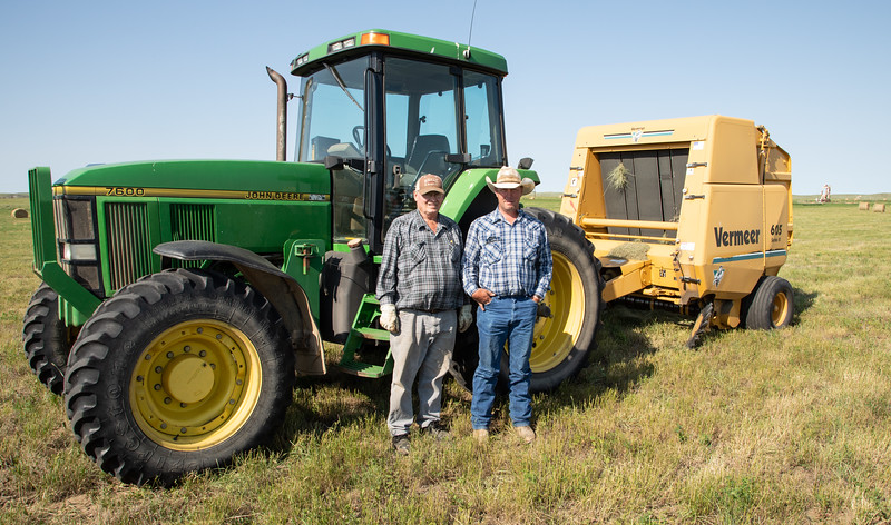 Cousin Gene and Ranch Foreman