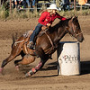 Barrel Racing - Marmarth, ND Rodeo