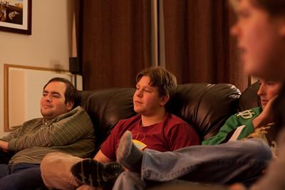 Yuliy, Cliff, David, and JT's head