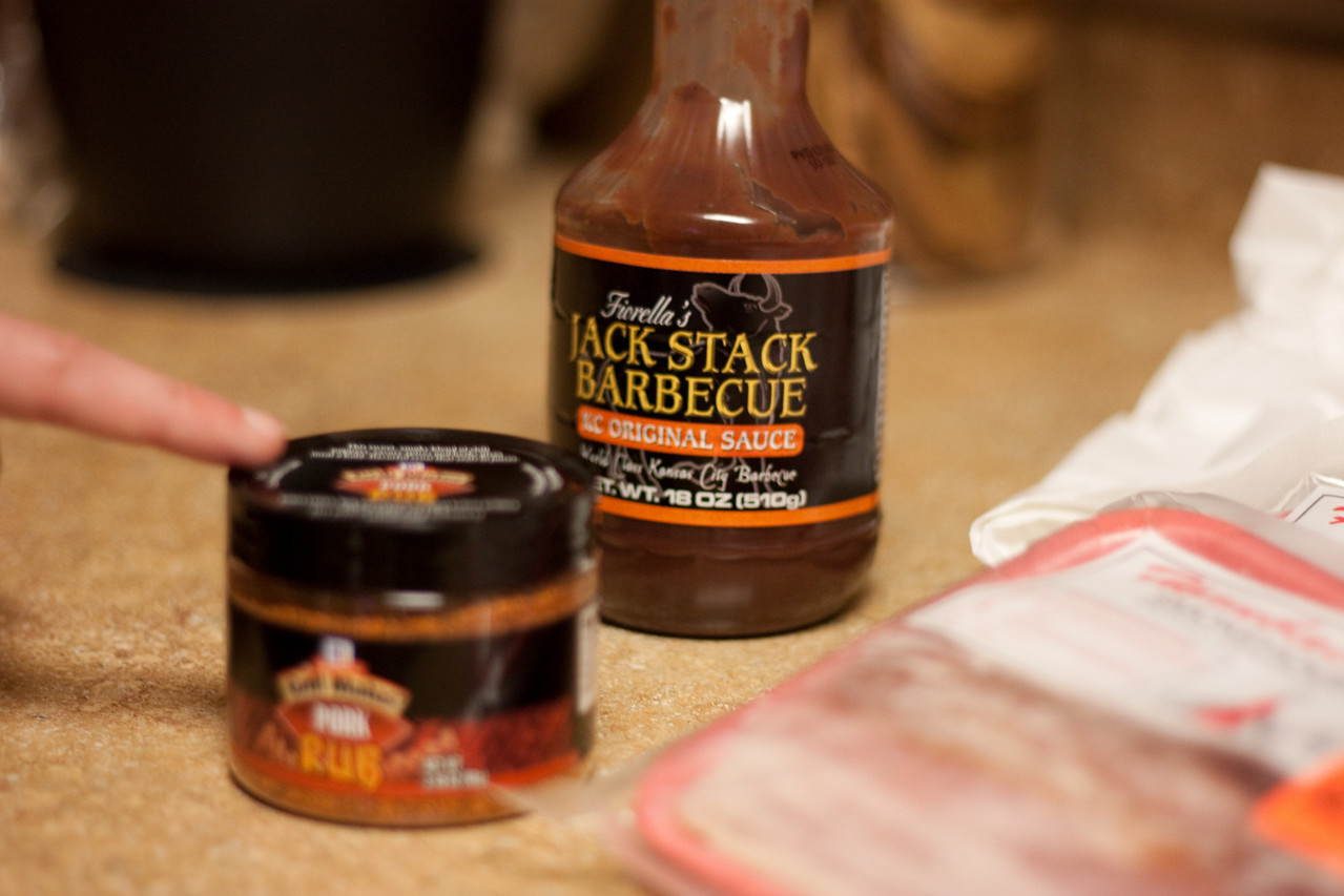 Jack Stack and rub