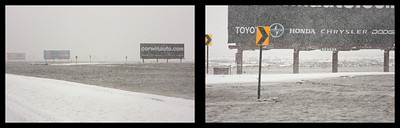 Flood Billboards Diptych