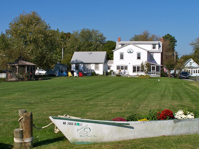 Tilghman Island MD - behind The Wood Duck Inn