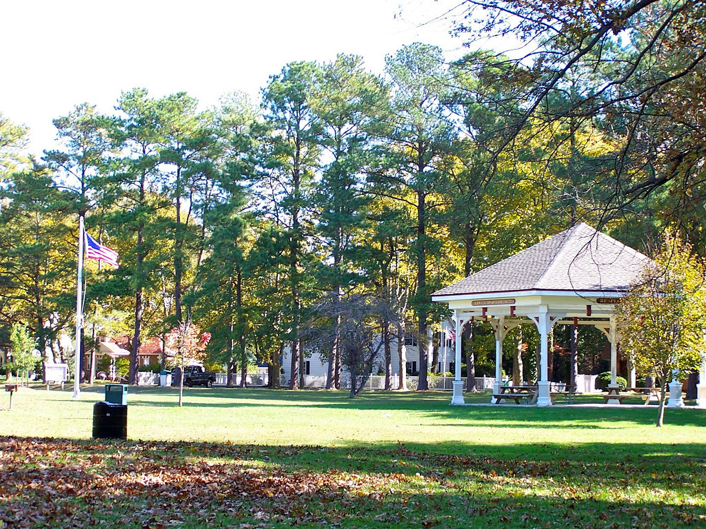 A park in Easton MD