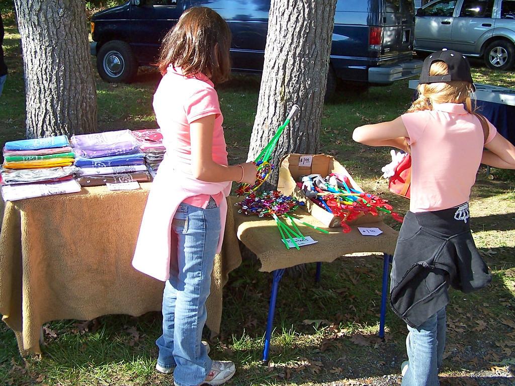 Tilghman Island Day - tee shirts and pinwheels for sale