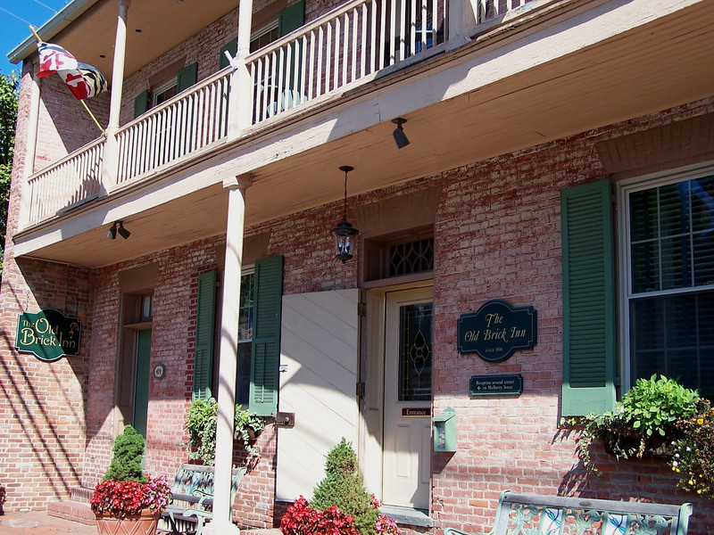 St Michaels MD - The Old Brick Inn