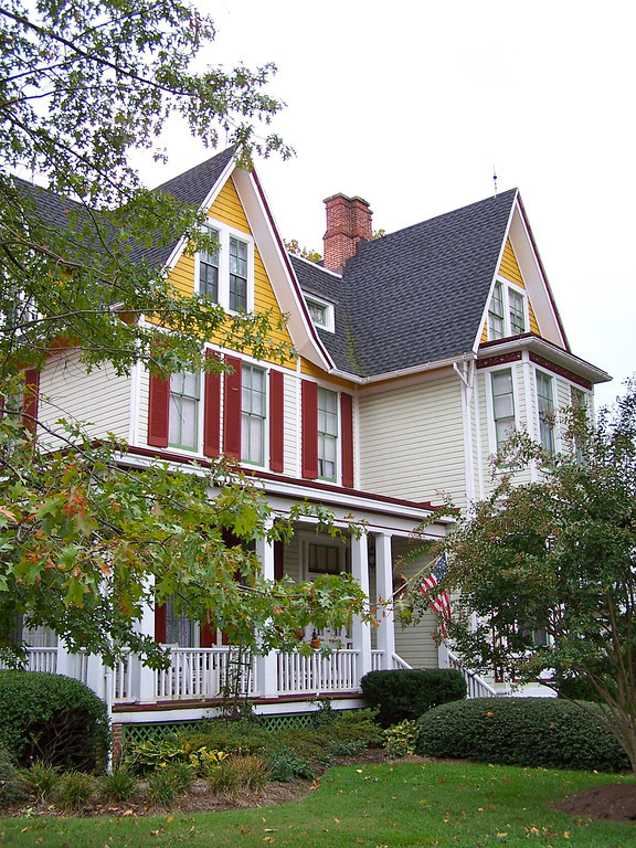 Easton MD - Bishop's House B&B - this is where we stayed