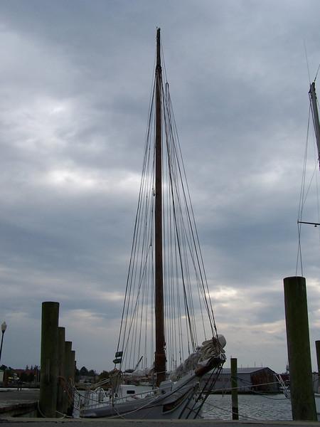 Tilghman Island -  a skipjack