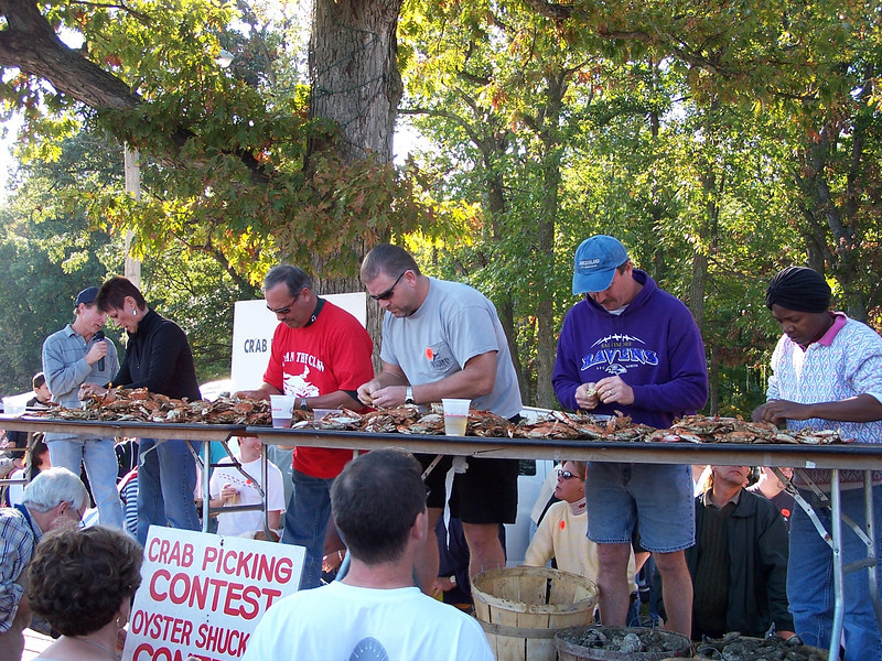 Tilghman Island Day - Crab Picking Contest
