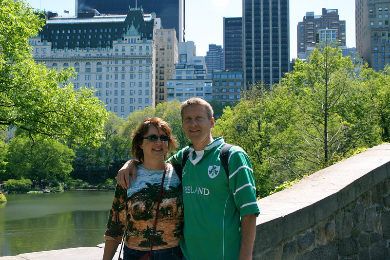 Dan and I in Central Park