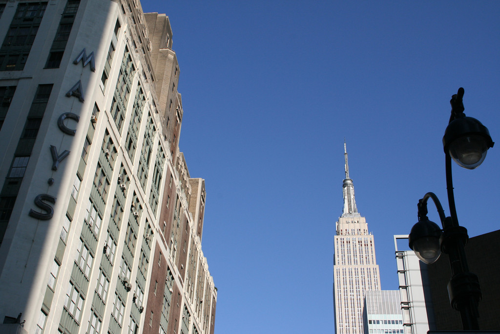 Macy's and the Empire State Building