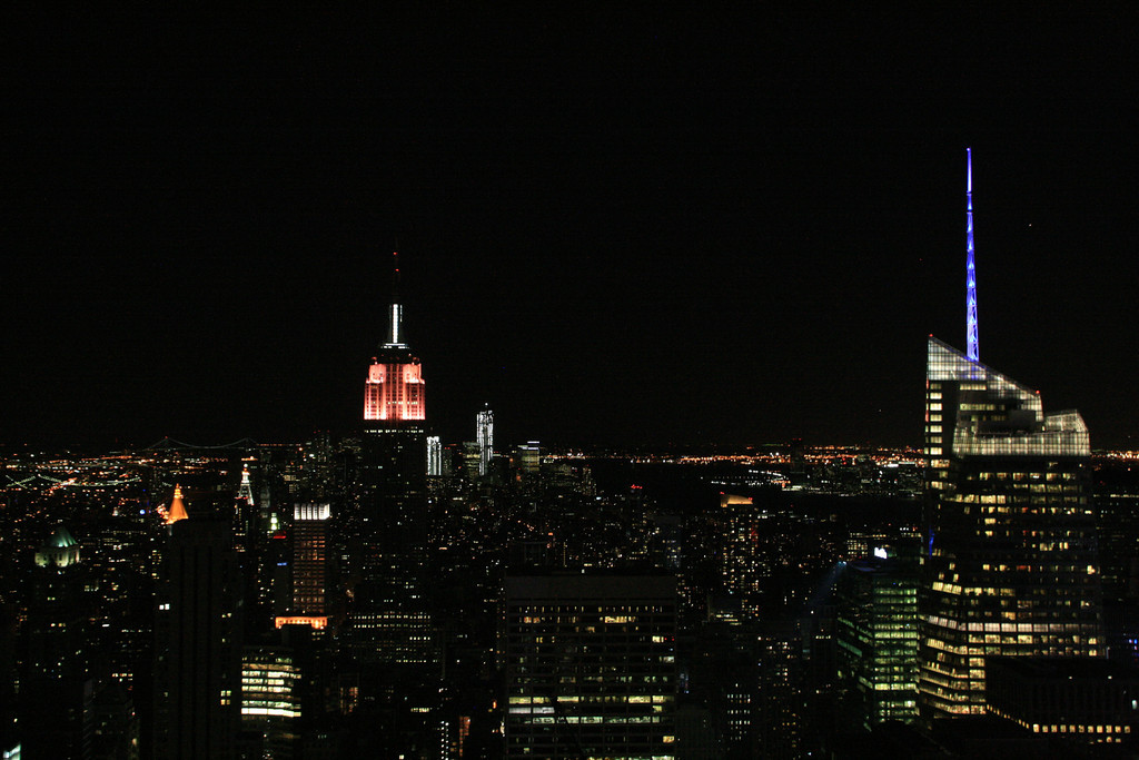 The Empire State Building from the Top of the Rock