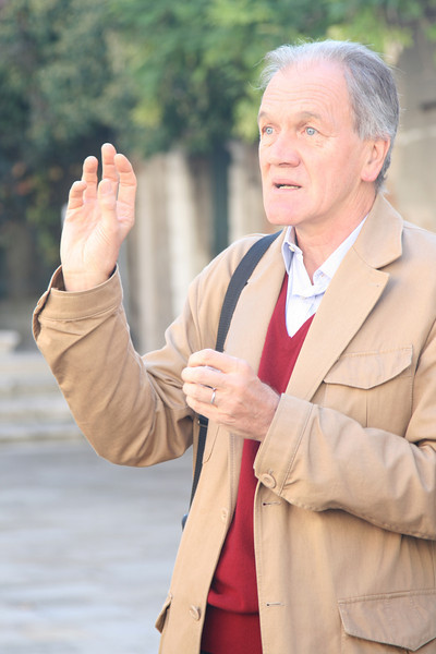 Michele's Dad, our tour guide in Venice