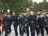 School children going to visit Revolutionary Martyrs' Cemetery, Pyongyang