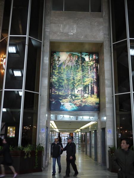 Hotel lobby, Pyongyang