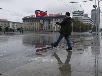 Hundreds of thousands of markings on the ground for military parades