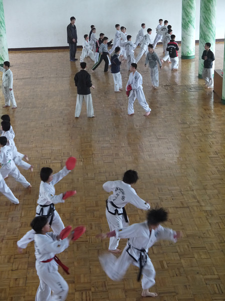 Mangyongdae Children's Palace Taekwondo club