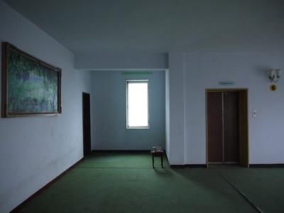 Hallway of my hotel in Nampho